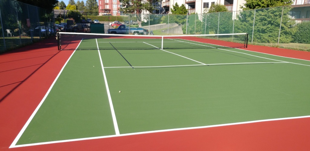 Victoria Overlay Tennis Court Surfacing