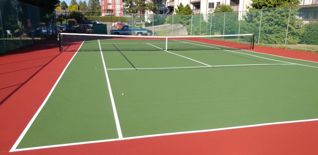 Victoria Overlay Tennis Court Surfacing
