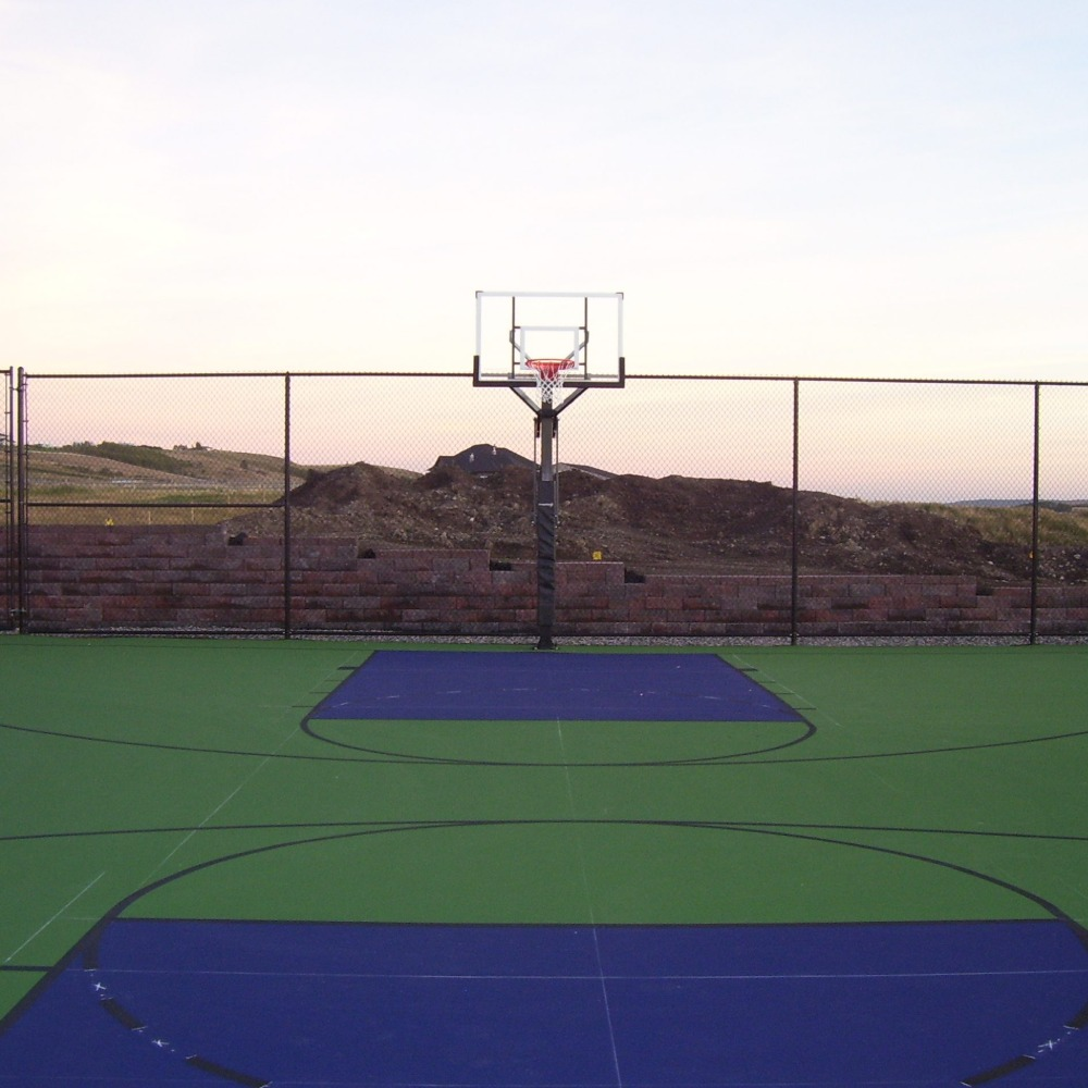 Basketball Court Building Alberta