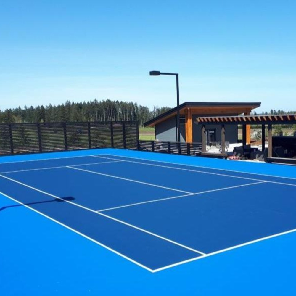 Saanich Tennis Court Resurfacing