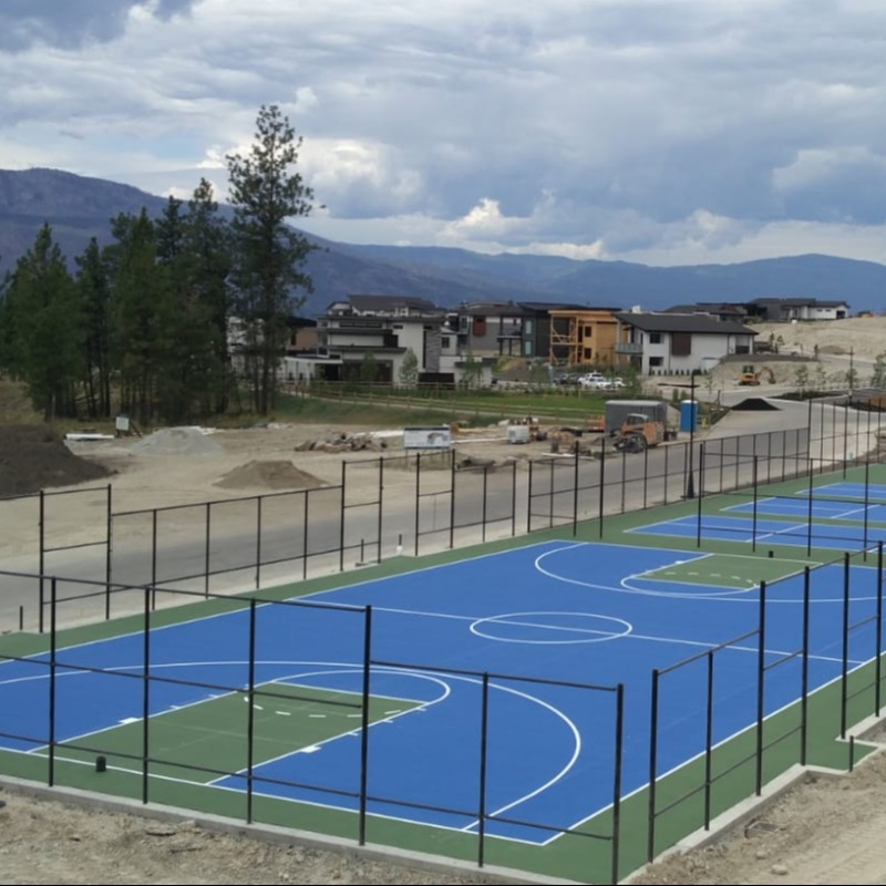 Basketball Court Resurfacing Vancouver
