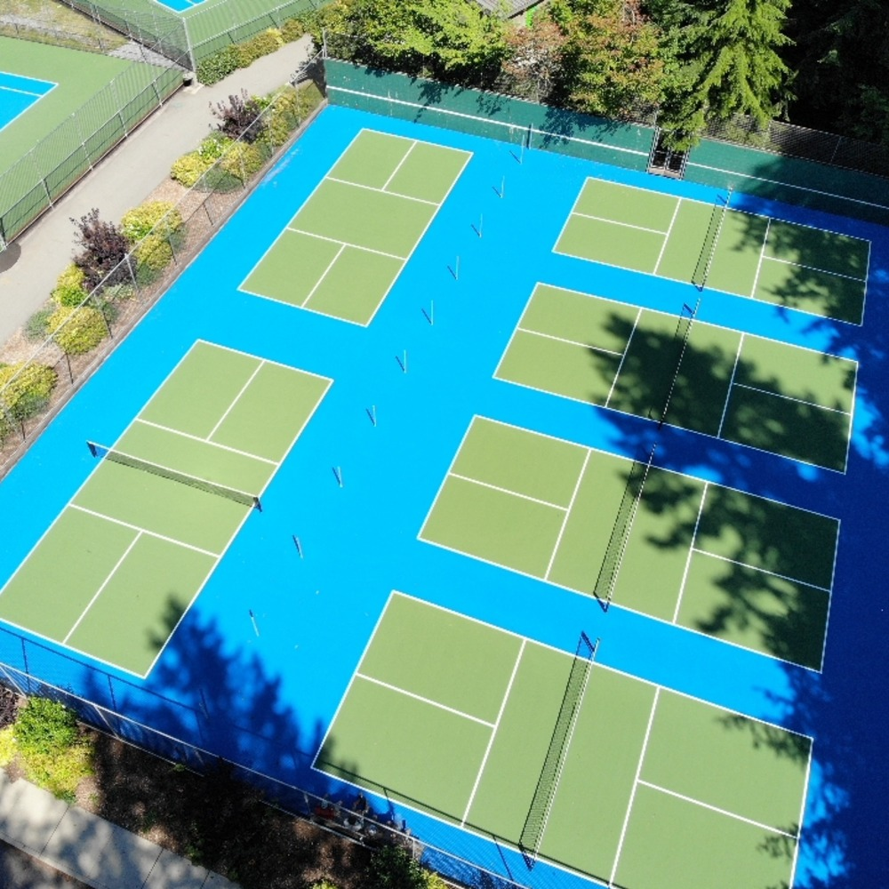 North Vancouver Pickleball Court Resurfacing