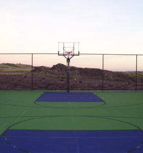 Basketball Court Surfacing alberta