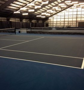 Indoor Tennis Facility Construction BC