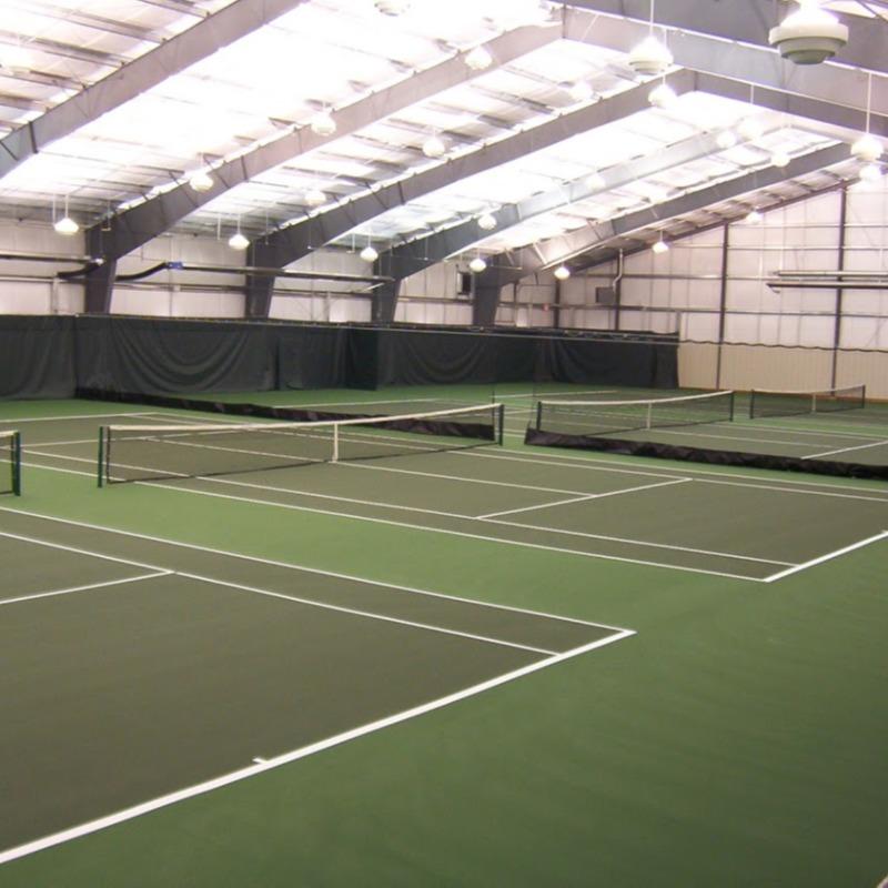 Indoor Tennis Court Resurfacing Alberta