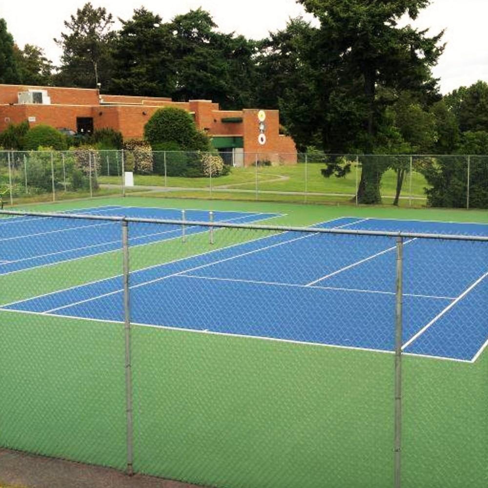 Victoria British Columbia Tennis Court Resurfacing