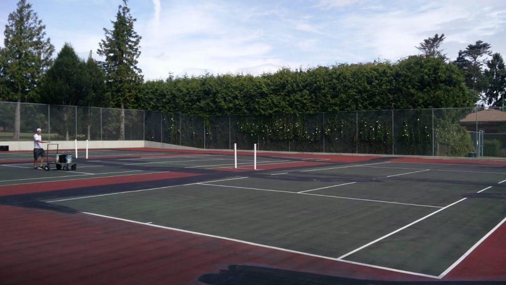 Tennis Court Crack Repair Victoria