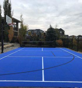 Backyard Modular Sports Court