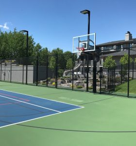 Residential Sports Court Full Construction