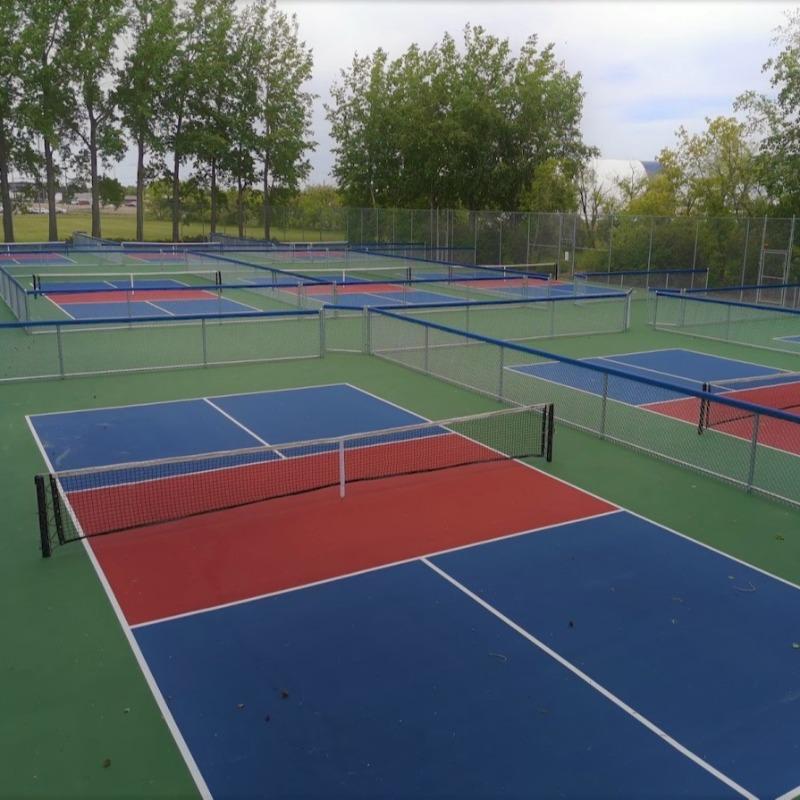 3 Tone Pickleball Courts