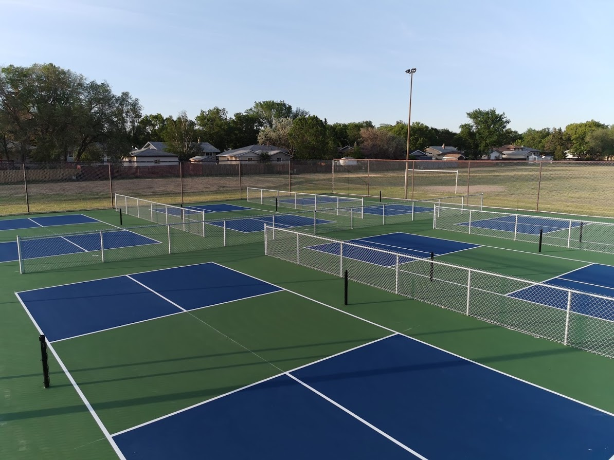 Sask Tennis Courts